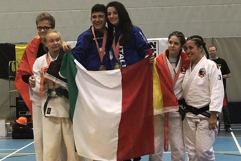Aleksandra 2ème au championnat d'Europe 2018